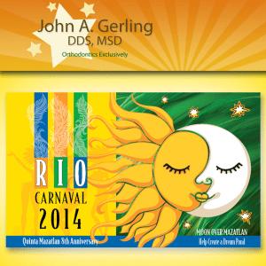 Rio Carnival John A Gerling DDS MSD McAllen TX