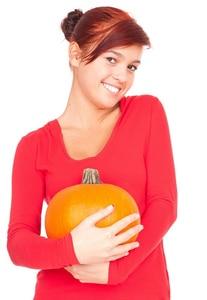 Girl Holding Pumpkin John A Gerling DDS in McAllen TX