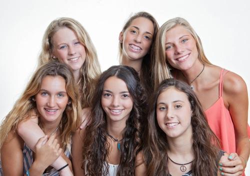 Group of Girls John A Gerling DDS MSD McAllen TX