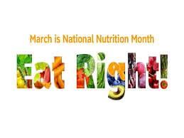 National Nutrition Month McAllen TX