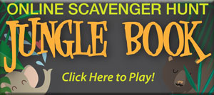 Gerling Orthodontics Jungle Book Online Scavenger Hunt Contest