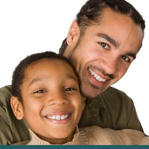 Father Son Smiles John A. Gerling DDS McAllen TX