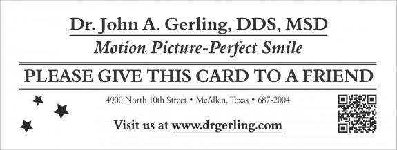 Perfect Smile John A Gerling DDS MSD McAllen TX